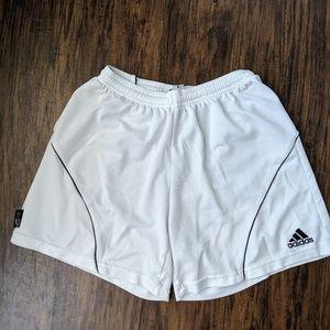 White Adidas Shorts